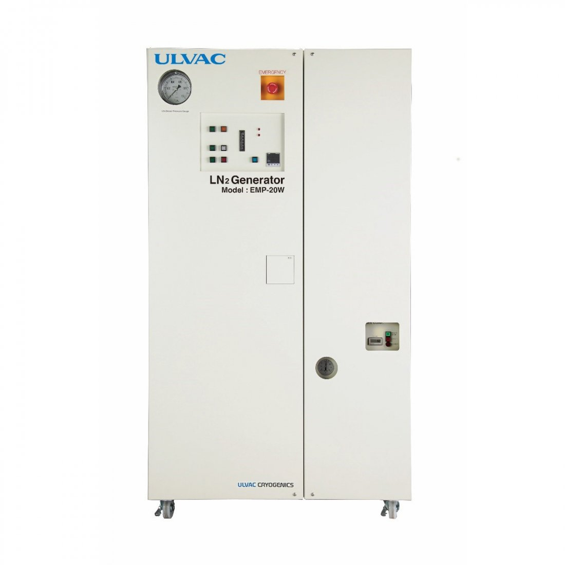 Ulvac Liquid Nitrogen Plants 20 L/day