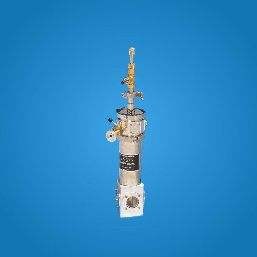 VPF Series Cryostat Systems - Sample in Vacuum