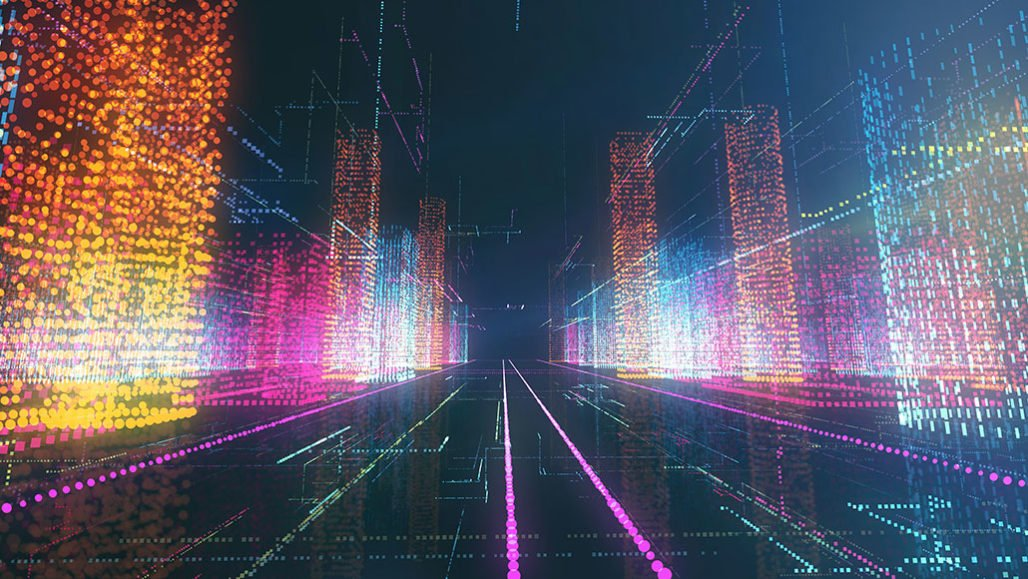 """In a step toward a quantum internet that could link cities of the future, scientists entangled quantum """"hard drives"""" connected across distances of tens of kilometers.AISLAN13/ISTOCK/GETTY IMAGES PLUS"""